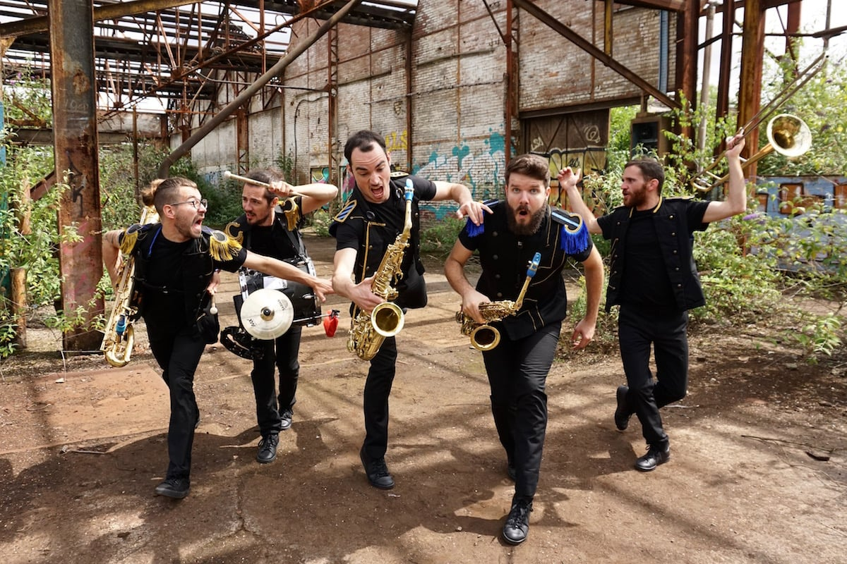 Mouv'n'Brass – la fanfare qui danse